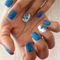 Stunning nails ref number 5014792912 - regard the delightfully easy peasy design tip right now. Neon Blue Nails, Purple Acrylic Nails, Summer Acrylic Nails, Glitter Nails, Nails Turquoise, Cute Summer Nails, Cute Nails, Pretty Nails, My Nails