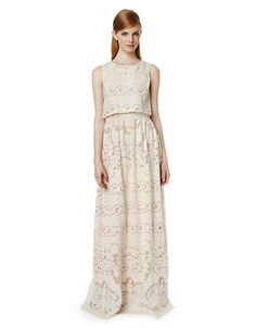 Women's Clothing | Dresses | Judy Filigree-Cutout Maxi Dress | Lord and Taylor