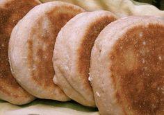 Awesome sourdough English Muffins.  I've made these.  Yummy!   wildyeastblog.com