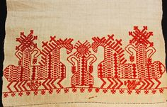— Linen towel used in marriage and childbirth...