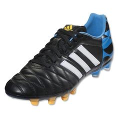 timeless design 2d32f 89977 Adidas adiPure 11Pro TRX FG Mens Soccer Cleats -Core BlackFootball  WhiteSolar