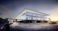 Flughafen München Entwurf Erweiterung Terminal 1 #Terminal1 #MUC