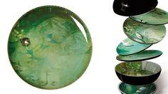 Yuan Vase / Stackable Bowls