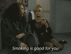 "No scientific evidence can convince you smoking is bad. | 21 Signs Patsy Stone From ""Absolutely Fabulous"" Is Your Spirit Animal"