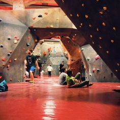 Ronimisministeerium in Tallinn. This is where I started with bouldering :)