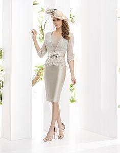 Sukienki Madrina Esthefan i Fiesta 2019 - Entrenovias Family Outfits, Cool Outfits, Fashion Outfits, Womens Fashion, Wedding Looks, Formal Dresses, Wedding Dresses, Mother Of The Bride, White Dress
