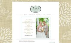 Thrilled to announce the launch of a new online home for friend and branding client, @Tailored Occasions (Tailored Occasions Event Planning and Design)... Be sure to check out her site this week for a great giveaway! | Greensboro Wedding Planner | Web Design and Branding by Elizabeth Glessner of Glessner Photography