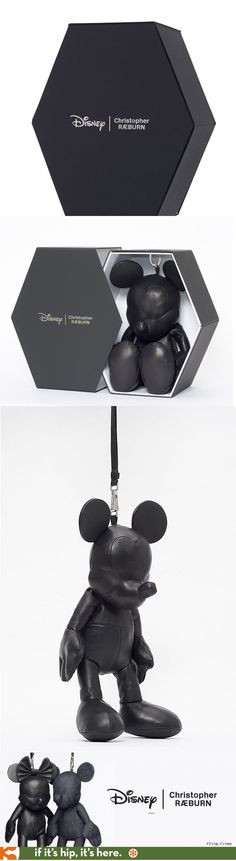 Disney Christopher Ræburn Mickey & Minnie Bags come in a specially designed, reusable hexagonal gift box that is environmentally friendly, created using flatpack and recycled elements.  The packaging has been produced by Christopher Raeburn's close manufacturing partner, Avery Dennison RBIS.