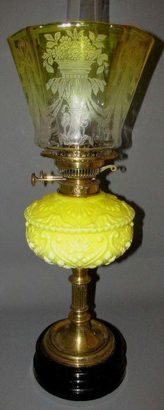COMPLETE+ORIGINAL+VICTORIAN+DUPLEX+OIL+LAMP+