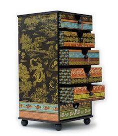 altered storage drawers