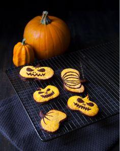 Recette Sablés à la citrouille - Pumpkin cookie recipe