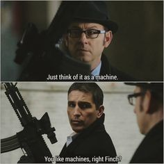 Person of Interest- Jonh and Finch