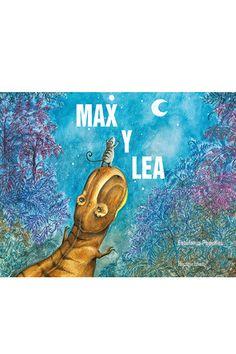 Max es un Tyrannosaurus rex; un dinosaurio muy grande y muy fuerte, y con un montón de colmillos, así que nadie se atreve a meterse con él