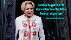 Romania to get PM Viorica Dancila after Mihai Tudose resignation. Government Jobs, January 2018, Affair, How To Get, Quotes, Quotations, Qoutes, Shut Up Quotes, Manager Quotes