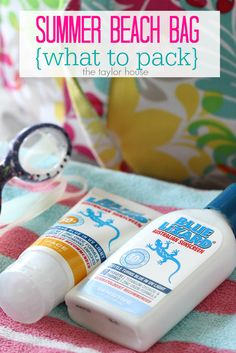 Summer Beach Bag: What to Pack - The Taylor House