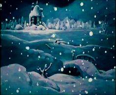 Winter in Moominvalley Tove Jansson, Snow Night, Night Illustration, Moomin Valley, Whole Earth, Optical Illusions, All Things Christmas, Winter Wonderland, Safari