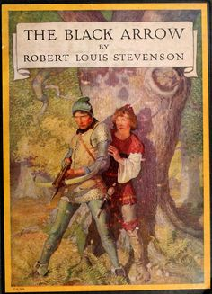 N.C. Wyeth (cover of one of my favorite books, too!!)