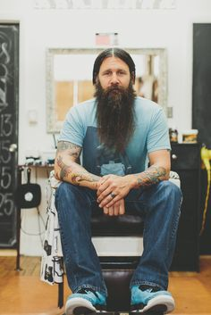 beardbrand:  Jimmy Hicks, The Bearded Barber from Dayton, OH, is profiled next in Beardbrand's Magazine!