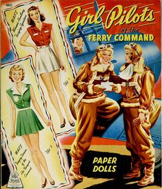 Girl Pilots of the Ferry Command paper dolls