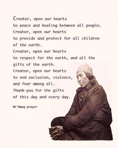 of thanks Native American Thanksgiving Prayer Native American Prayers, Native American Spirituality, Native American Wisdom, American Indians, American Symbols, Native American Decor, Native American Cherokee, American Indian Quotes, American Art