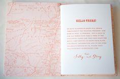 Map Travel Inspired Wedding Invitations Gus and Ruby Letterpress12 550x366 Sally + Grays Maine Map Destination Wedding Invitations
