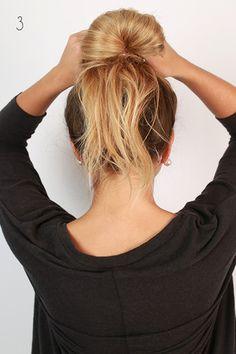 The Ultimate Messy Bun The Ultimate Messy Bun nana baugh ndbaugh Hair Finally The hair tutorial we know you have all been waiting for We nbsp hellip Bun Hairstyles For Long Hair, Trending Hairstyles, Beach Hairstyles, Quick Hairstyles, Party Hairstyles, French Braid Ponytail, Bun Bun, Knot Bun, Hair Knot