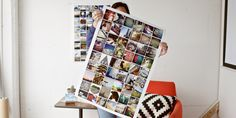 Easy DIY: Make your own photo collage poster via Print Studio