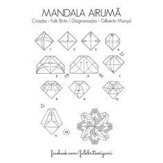 diagrama divino espirito santo origami - Pesquisa Google