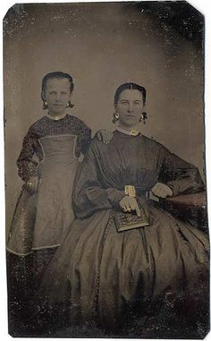 Mother and Daughter with Image Case – Tintype | Flickr - Photo Sharing!