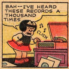 "Nancy ""bah--I've heard these records a thousand times"""