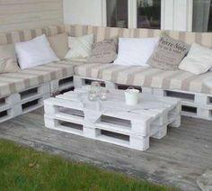 Palets: convertilos en muebles para tu casa