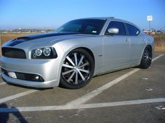 "Got a 2006-2010 Dodge Charger? Megan Racing has released new lowering springs that are only $144.99 plus shipping and lower your Charger 1.5"" front and rear.    Order here, plenty in stock: http://www.redline360.com/megan-racing-lowering-springs-dodge-charger-MR-LS-DCHR06  Price does not include shipping."