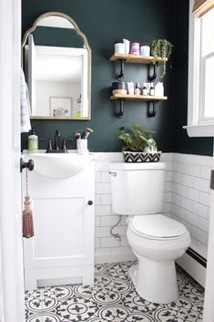 Best Color For Small Dark Bathroom