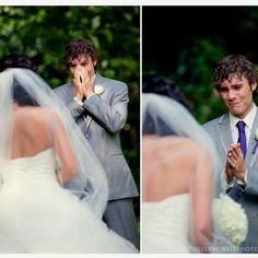 Every bride would love to see this reaction from her groom on her wedding day!