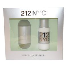 212 By Carolina Herrera For Women. Gift Set ( Eau De Toilette Spray 3.4 Oz + Hydrating Body Lotion 6.75 Oz ) by Carolina Herrera. $74.25. Packaging for this product may vary from that shown in the image above. 212 by Carolina Herrera for WOMEN EDT SPRAY 3.4 OZ & BODY LOTION 6.7 OZ Launched by the design house of Carolina Herrera in 1997, 212 by Carolina Herrera possesses a blend of lily of the valley, floral notes, musk, jasmine, soft powdery flowers, gardenia. It is re...