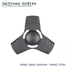 metal fidget spinner torqbar style. This hand spinner is the perfect fidget spinner for tradeshows, conferences, b2b and marketing. Put your logo on this fidget.