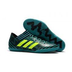 Pas Cher Adudas Nemeziz Tango 17.3 IC Chaussures de football noir Vert  fonce. Adidas ... 0ae88bdb895b6