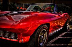 1963 Chevy Corvette by David Patterson #ClassicCars #Corvettes #VintageCars