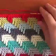 Crochet Granny Ripple Tutorial - Free Crochet Pattern by Needle Tatting Patterns, Crochet Stitches Patterns, Crochet Motif, Crochet Designs, Crochet Hooks, Free Crochet, Knitting Patterns, Crochet Granny, Nautical Crochet