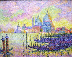"""Paul Signac, """"Entrance to the Grand Canal, Venice"""", 1905"""