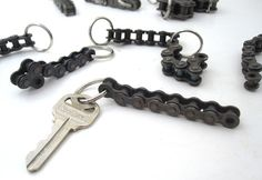Roller Chain Key Chain