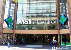 Provisión de cristales Mall del Centro
