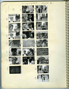 unfinished-photography:  Chris Marker's workbook