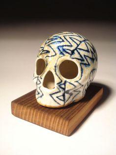 Smokey Gray Cobalt Skull.