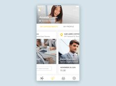 Social App Interaction by Irina Medyantseva — The Best iPhone Mockups for Your Next Product → store.ramotion.com