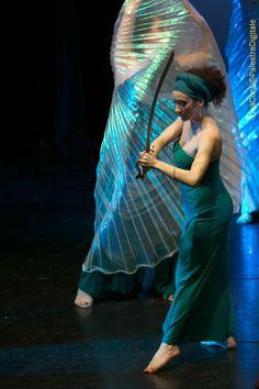 #Bellydance #sword #Danza del #ventre con #spada