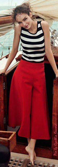 Luma Grothe for Harper's Bazaar Mexico, June 2015   cynthia reccord Nyc Fashion, Editorial Fashion, Korean Fashion, Womens Fashion, Fashion Tips, Boat Fashion, Fashion Poses, Female Fashion, Petite Fashion