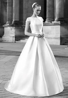 La robe de mariée Eiffel issue de la collection 2017 de Pronuptia