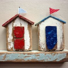 Little beach houses