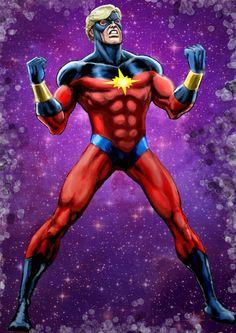 Captain Marvel (The Kree One) by Dan Avenell